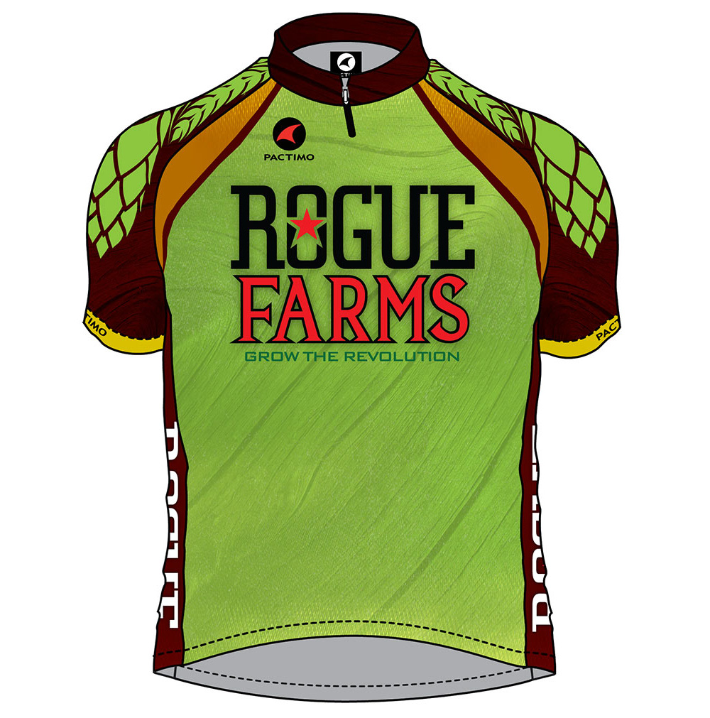 Rogue Farms bike jersey